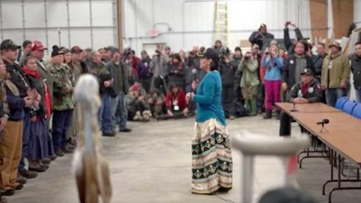 Standing Rock Veteran's Respond